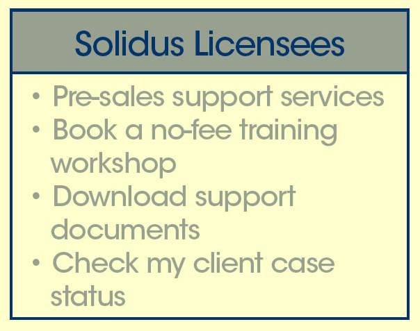 Solidus Licensees